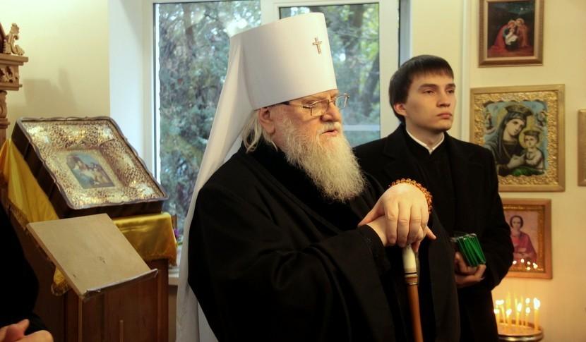 Митрополит Исидор посетил геронтологический центр «Екатеринодар»