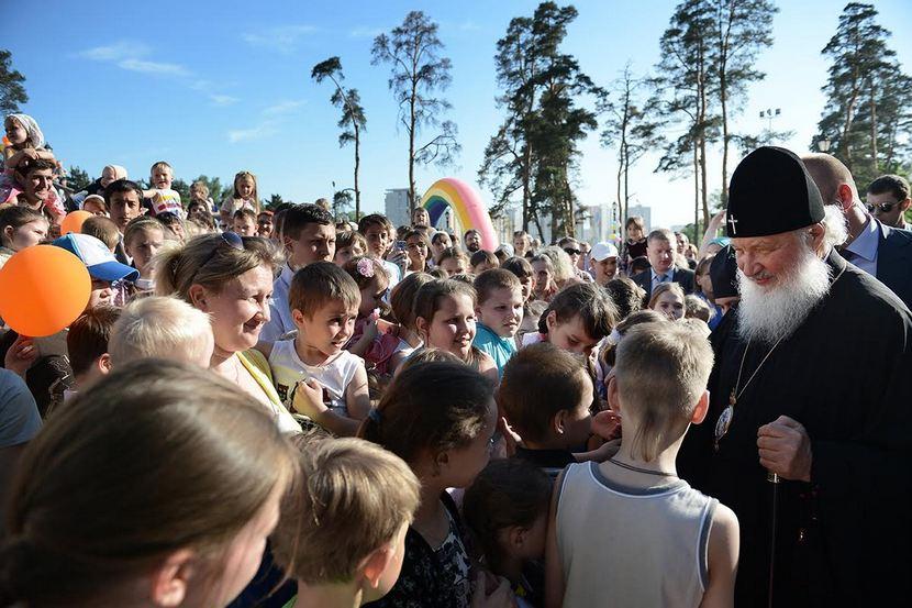 Обращение Патриарха Кирилла по случаю празднования Дня православной молодежи