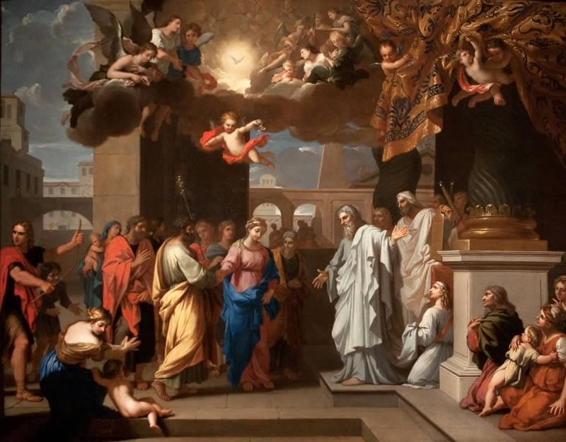 Никола Луар. «Обручение Марии и Иосифа»
